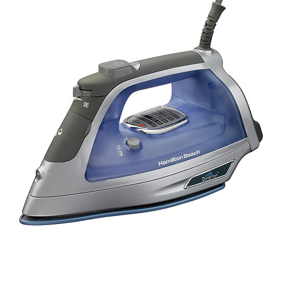 Hamilton Beach Durathon Electronic Automatic Shutoff Iron With Retractable Cord