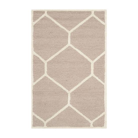 Safavieh Tryik Geometric Hand Tufted Wool Rug