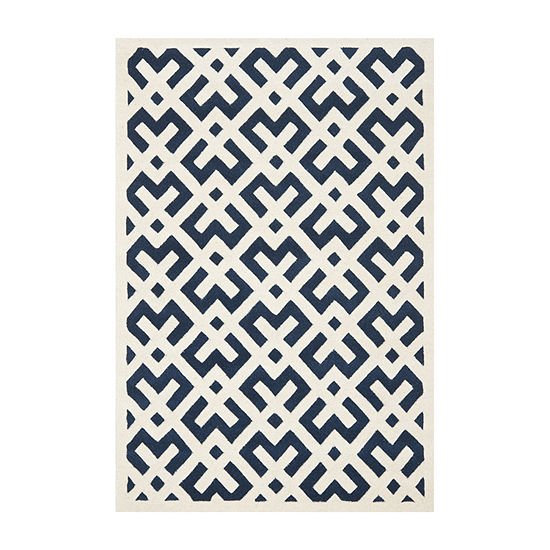 Safavieh Reanna Geometric Hand Tufted Wool Rug
