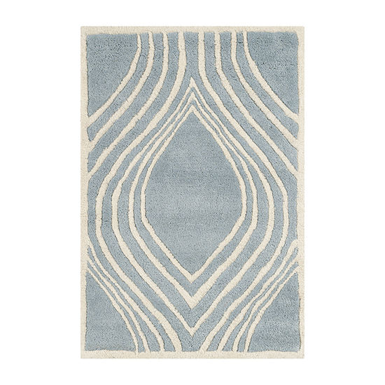 Safavieh Jerred Geometric Hand Tufted Wool Rug