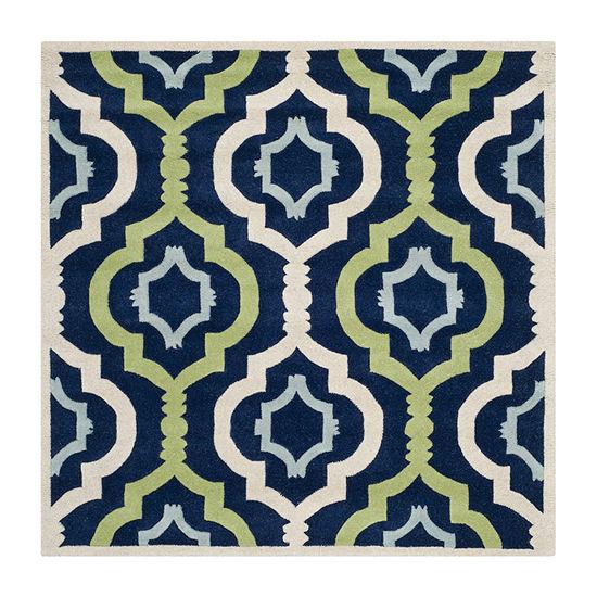 Safavieh Joetta Geometric Hand Tufted Wool Rug