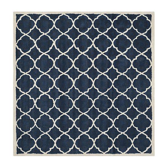 Safavieh Keaton Geometric Hand Tufted Wool Rug