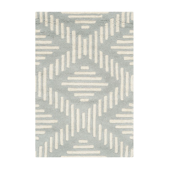 Safavieh Kaeden Geometric Hand Tufted Wool Rug