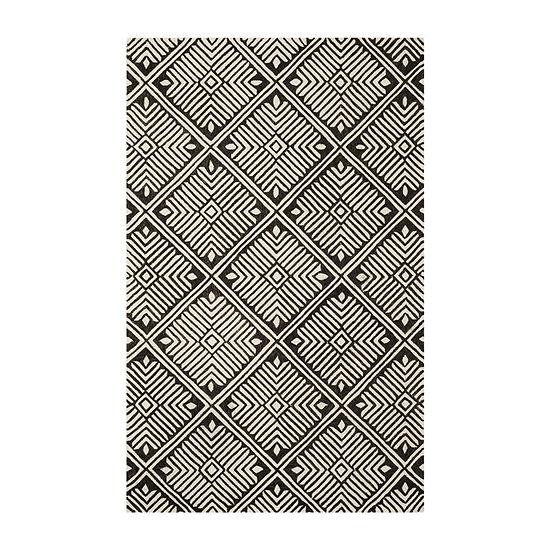 Safavieh Katina Geometric Hand Tufted Wool Rug
