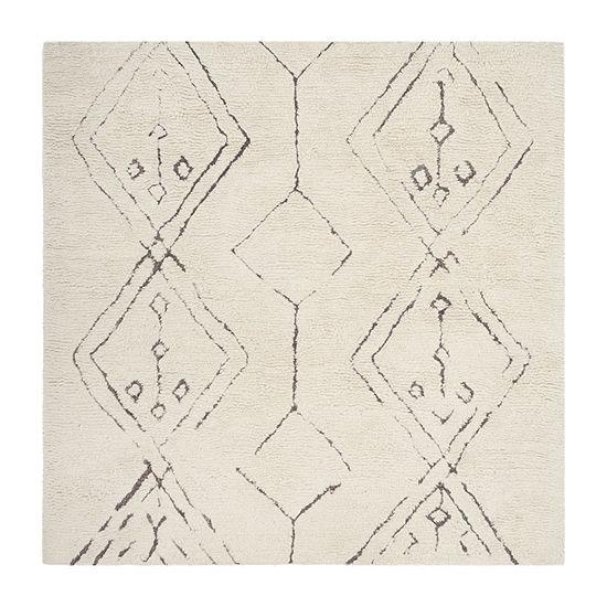 Safavieh Casablanca Collection Claud Geometric Square Area Rug