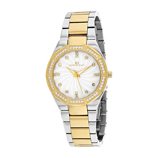 Oceanaut Womens Two Tone Stainless Steel Bracelet Watch - Oc0253