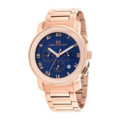 Oceanaut Mens Rose Goldtone Bracelet Watch-Oc0335