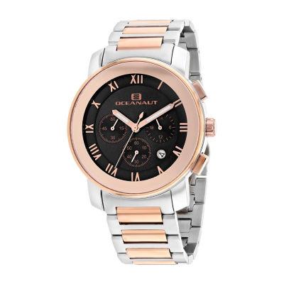 Oceanaut Mens Two Tone Bracelet Watch-Oc0336