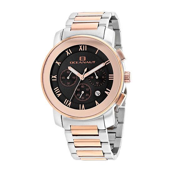 Oceanaut Mens Two Tone Stainless Steel Bracelet Watch-Oc0336
