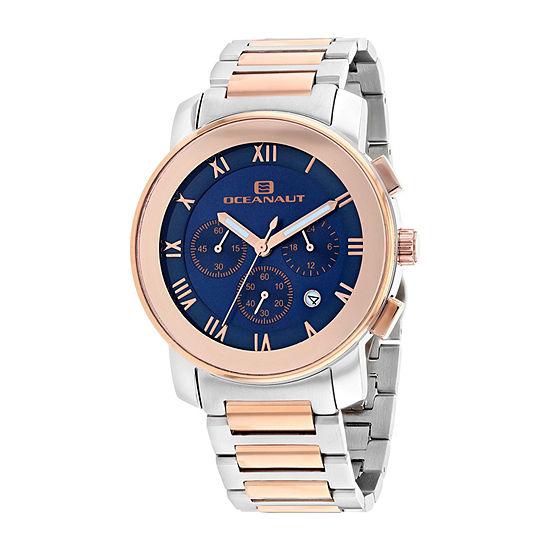 Oceanaut Mens Two Tone Stainless Steel Bracelet Watch-Oc0338
