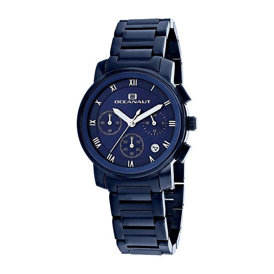 Oceanaut Womens Blue Stainless Steel Bracelet Watch Oc0630