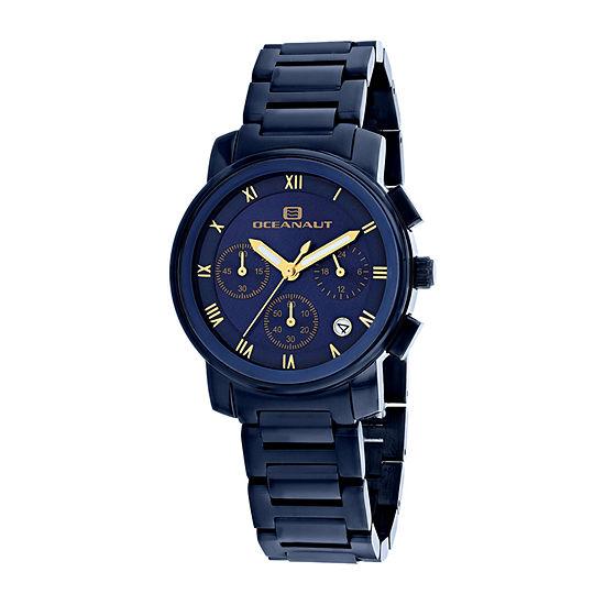 Oceanaut Womens Blue Stainless Steel Bracelet Watch-Oc0631