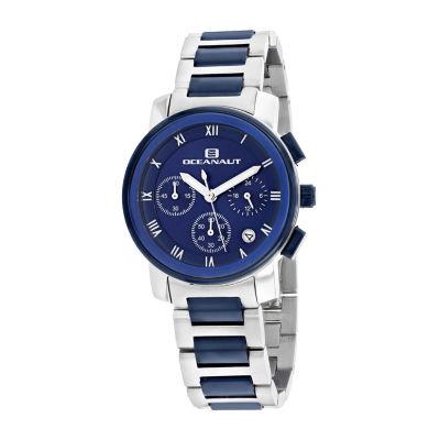 Oceanaut Womens Two Tone Bracelet Watch-Oc0632