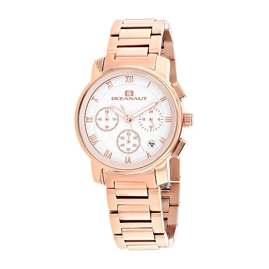 Oceanaut Womens Rose Goldtone Stainless Steel Bracelet Watch-Oc0634