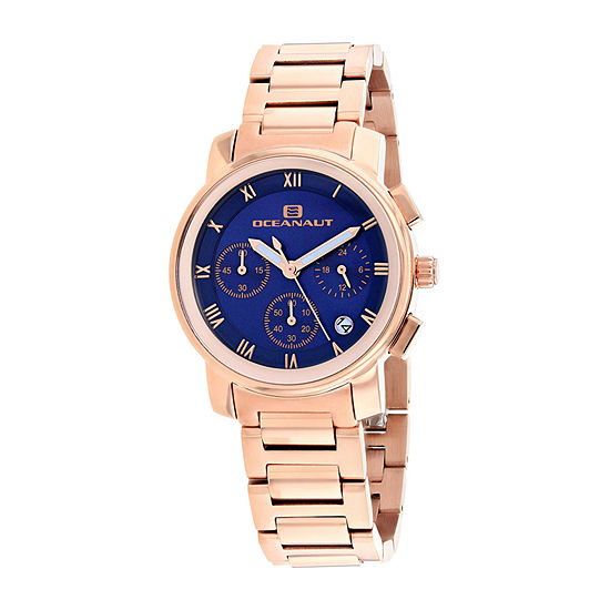 Oceanaut Womens Rose Goldtone Stainless Steel Bracelet Watch - Oc0635