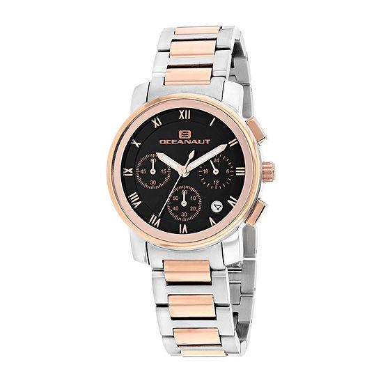 Oceanaut Womens Two Tone Bracelet Watch-Oc0636