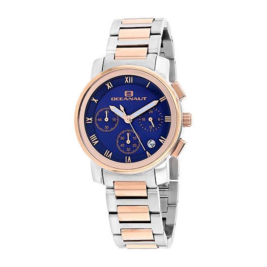 Oceanaut Womens Two Tone Bracelet Watch-Oc0638