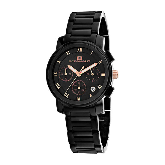 Oceanaut Womens Black Bracelet Watch-Oc0639