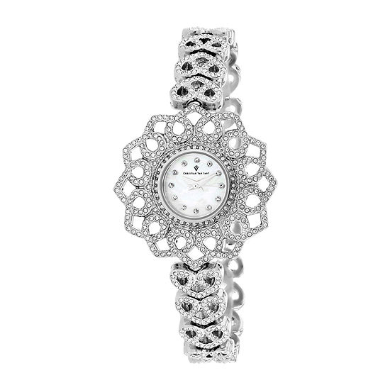 Christian Van Sant Womens Stainless Steel Bracelet Watch-Cv4810