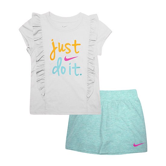 Nike 2 Pc Skort Set Girls