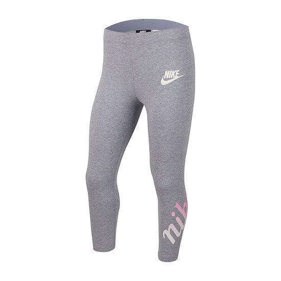 Nike Girls Capri Leggings Big Kid