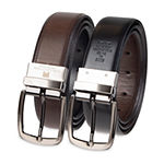 Collection by Michael Strahan Reversible Stretch Dress Men's Belt with Metal Keeper