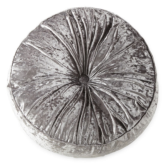 Home Expressions Round Meditation Pouf