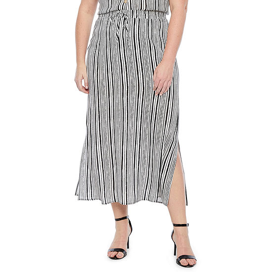 Alyx Womens Mid Rise Maxi Skirt - Plus