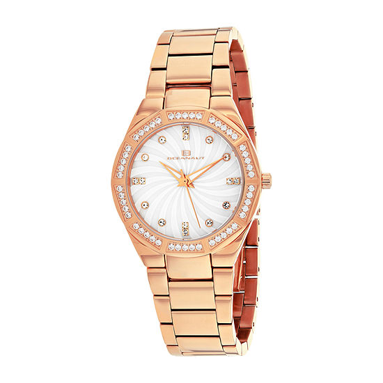 Oceanaut Womens Rose Goldtone Stainless Steel Bracelet Watch-Oc0252