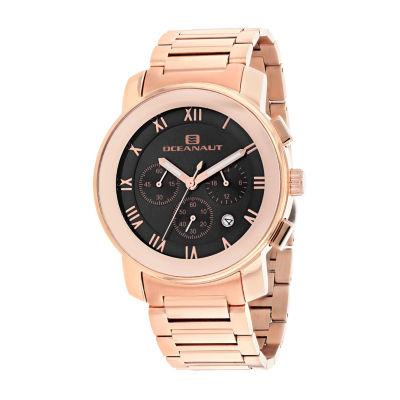 Oceanaut Mens Rose Goldtone Bracelet Watch-Oc0333