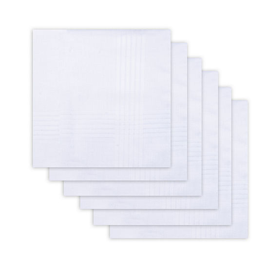 Dockers® 6 Piece Cotton Men's Handkerchief Set