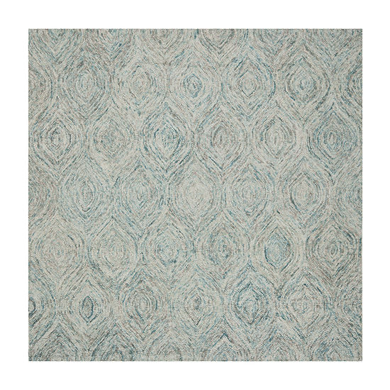 Safavieh Ikat Collection Cheshunt Geometric Square Area Rug
