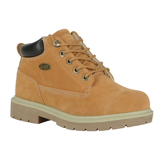 Lugz Womens Lugz Lace Up Water Resistant Work Boots Flat Heel