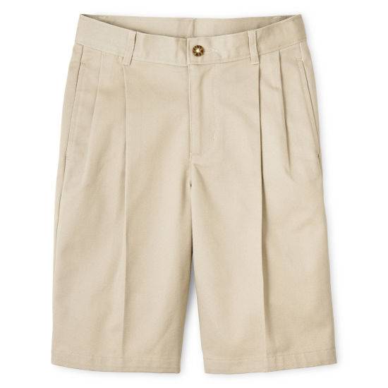 IZOD® Pleated Shorts - Preschool Boys 4-7 Regular and Slim