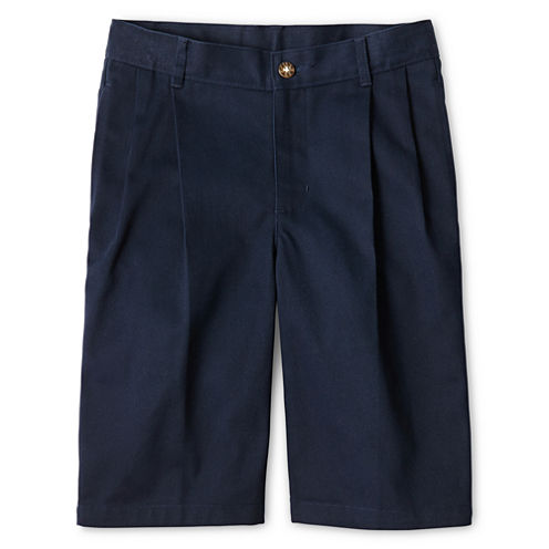 IZOD® Pleated Shorts - Preschool Boys 4-7 Regular and Slim