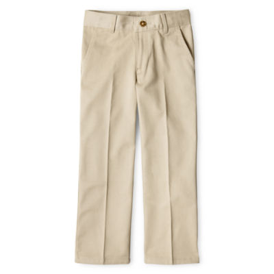 IZOD® Flat-Front Reinforced Knee Pants Boys 8-20, Slim and Husky