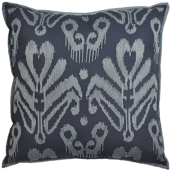 Idea Nuova Republic Blue Damask Decorative Pillow
