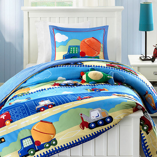 Mi Zone Kids Truck Zone Comforter Set