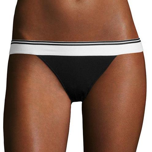Flirtitude® Wide Elastic Bikini Panties