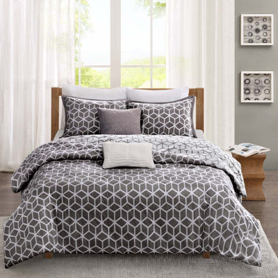 Madison Park Pure Andrea 5-pc. Reversible Duvet Set