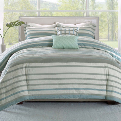 Madison Park Pure Burke 5-pc. Duvet Set