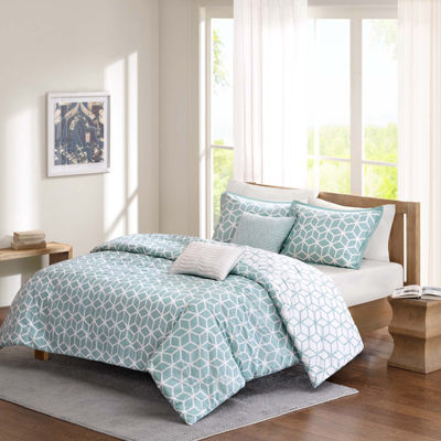 Madison Park Pure Camilla 5-pc. Reversible Duvet Set