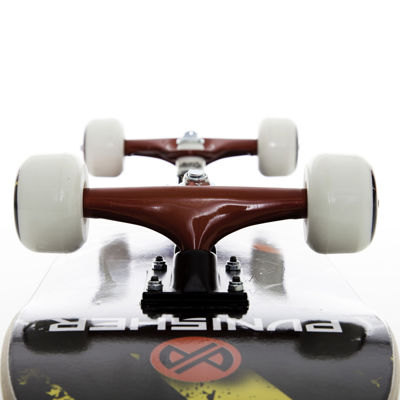 "Punisher Skateboards Teddy 31.5"" ABEC-7 Complete Skateboard"