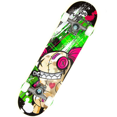 "PUNISHER® Skateboards Jinx 31"" Skateboard"