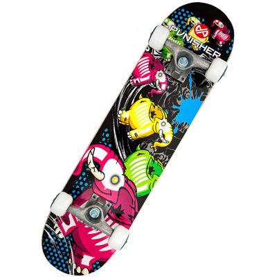 """Punisher Skateboards Elephantasm 31.5"""" ABEC-7 Complete Skateboard"""