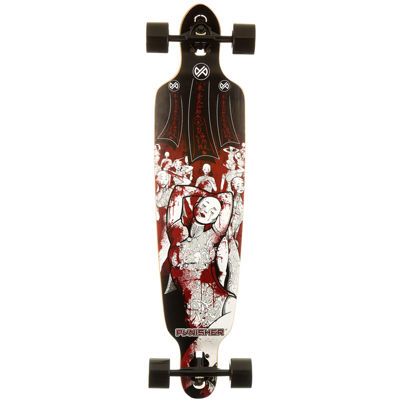 "PUNISHER® Skateboards Mannequin 40"" Longboard"