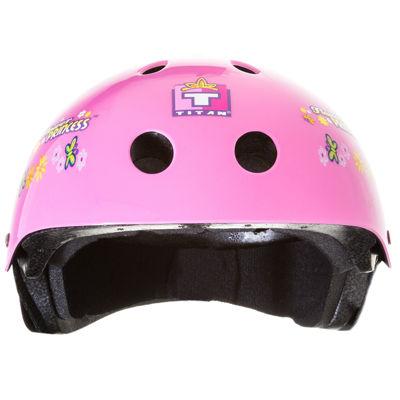Titan® Flower Princess Youth Skateboard Helmet