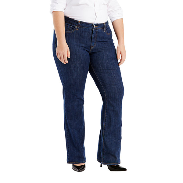 Plus Size Levi's 415 Relaxed Fit Bootcut Jeans  Blue Jade