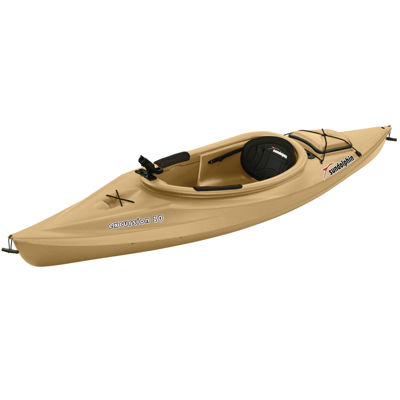 Sun Dolphin Excursion 10 Angler Kayak, Paddle Included