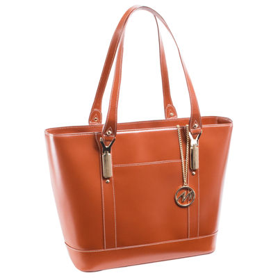 McKleinUSA Arya Leather Tote with Tablet Pocket